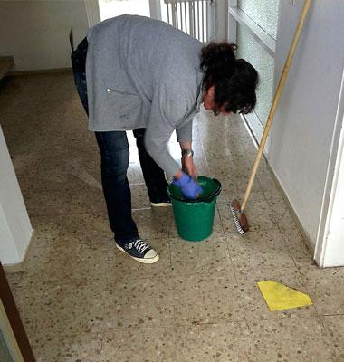 Nettoyage des Parties Communes